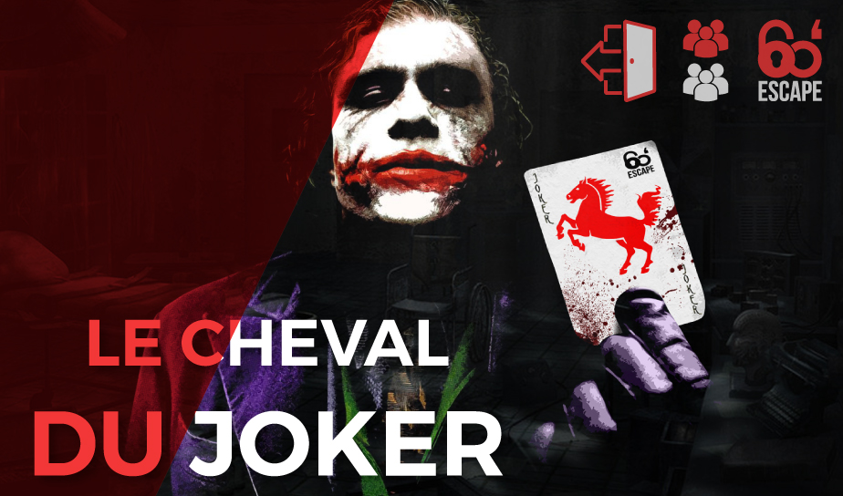 60 Minutes Escape Le cheval du Joker