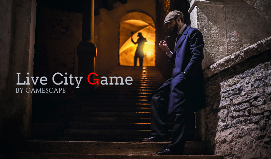 Gamescape La Disparition du Dr Watson - Live City Game